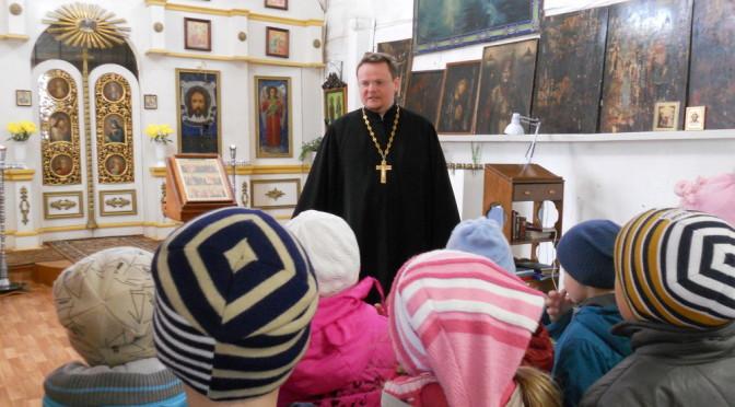 Воспитанники детского сада побывали в храме